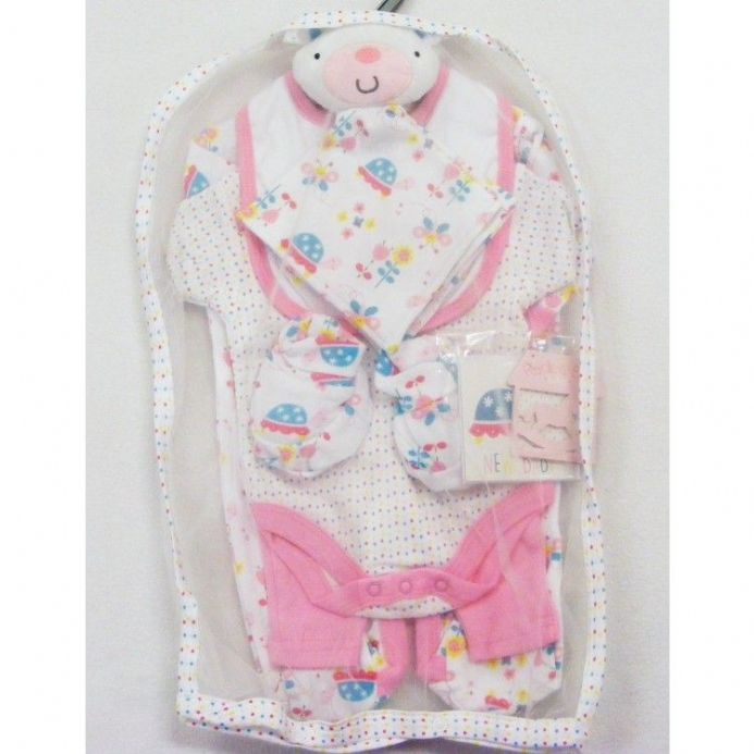 5 Piece Layette Set With Comforter